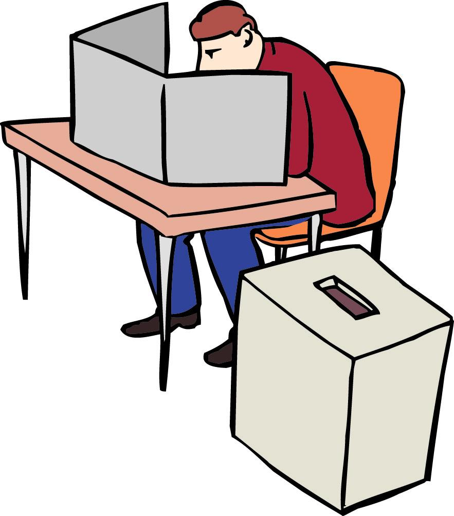 Wählen mit Wahl-Zettel